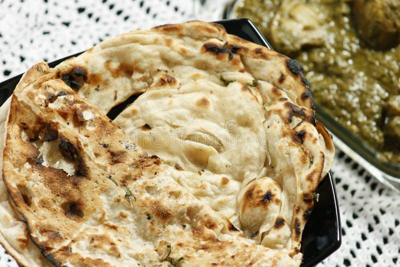 Tandoori Roti is Indian unleavened bread royalty free stock image