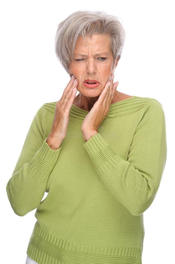 Tandpijn stock foto's
