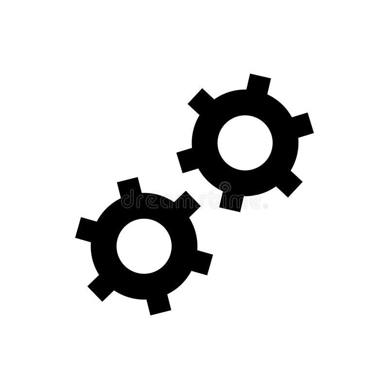 Tandraderen vectorpictogram voor grafisch ontwerp, embleem, website, sociale media, mobiele toepassing, ui illustratie vector illustratie