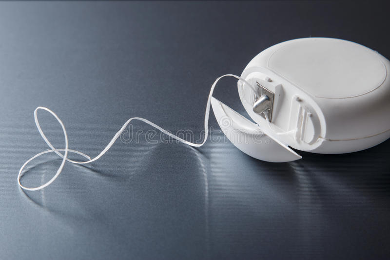 Tandtråd arkivfoton