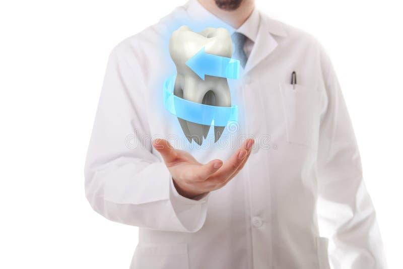 Tandvård royaltyfri bild