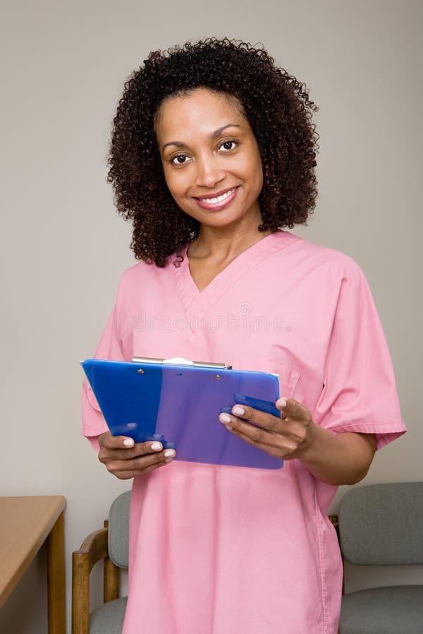Tandverpleegster stock foto