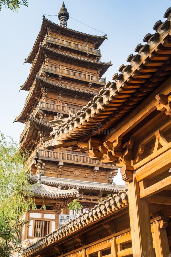 Tang-Artarchitektur lizenzfreie stockfotografie