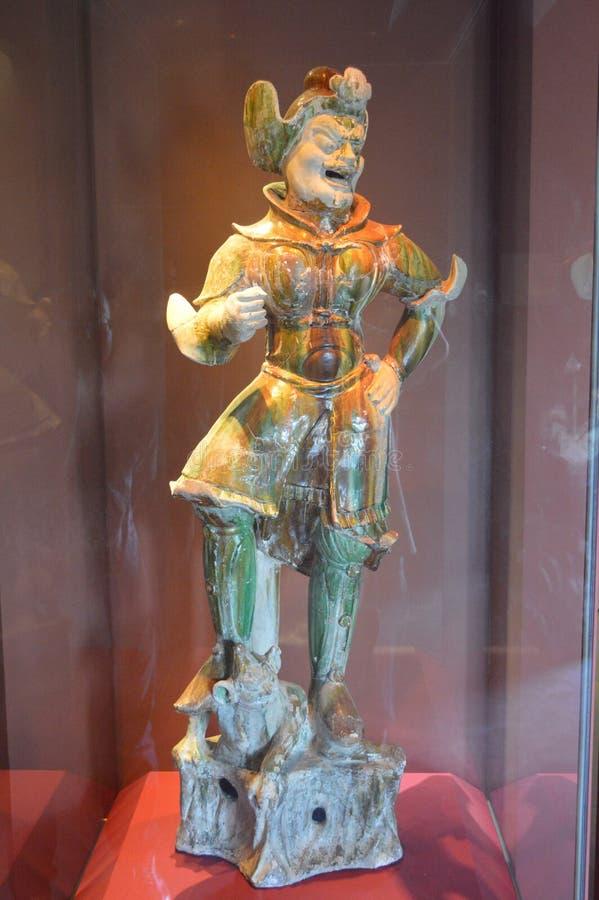 Tang Sancai Terracotta Warriors foto de stock