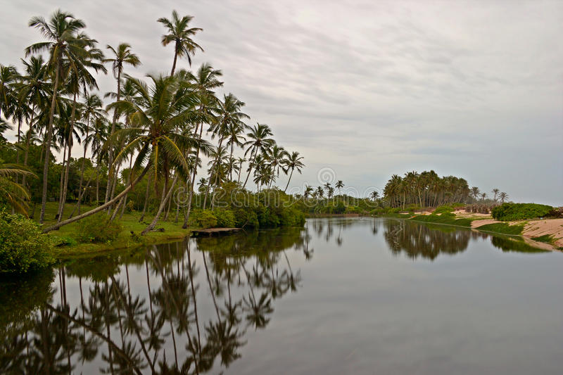 Download Tangalla backwaters stock photo. Image of outdoors, cloud - 28744444