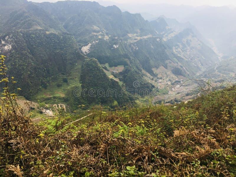 Tangba-Erholungsort-Erholungsortnaturschutzgebiet China lizenzfreies stockbild