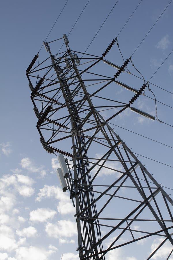 Download Tangent tower over sky stock image. Image of energetics - 13019673