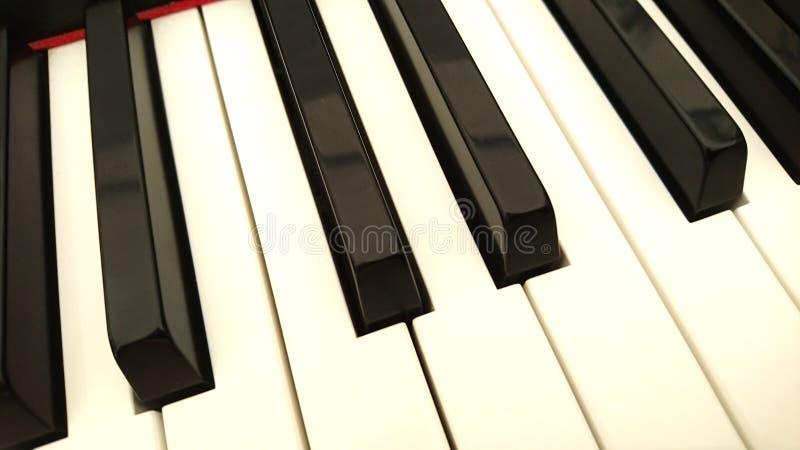 Tangentbord av ett elektriskt piano royaltyfri foto