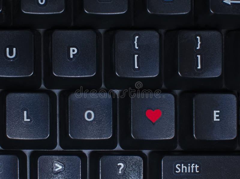 tangentbordförälskelse arkivbild