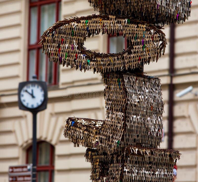 Tangenter Prague royaltyfri fotografi