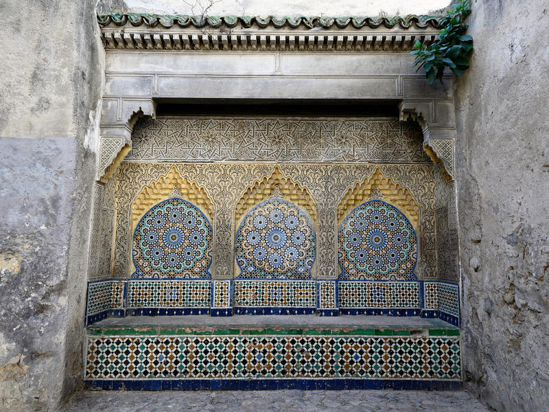 Tanger在摩洛哥,非洲 免版税库存照片