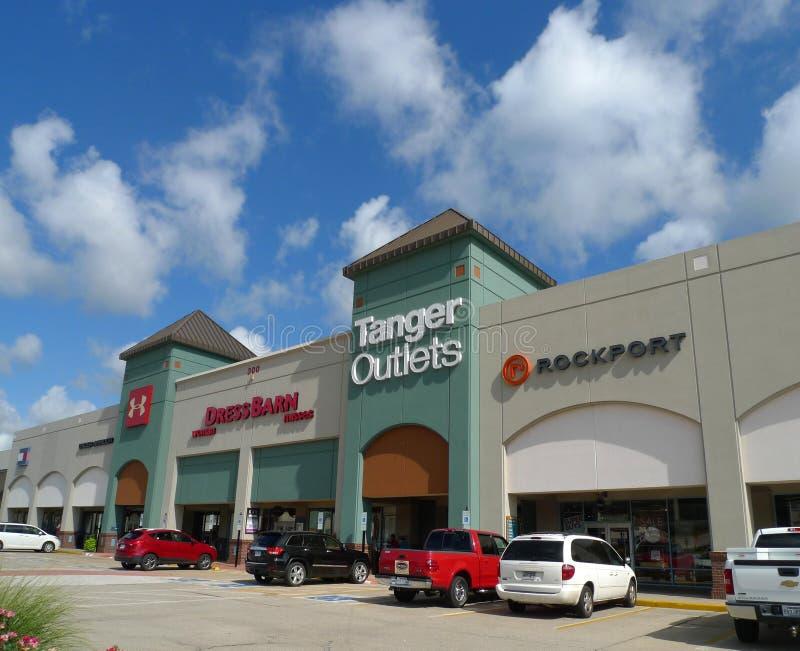 Tanger-Ausgangmall in Branson, Missouri stockfotos