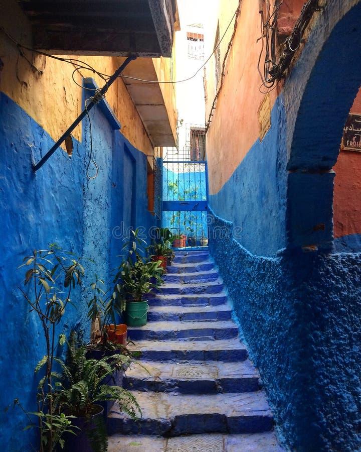 Tanger Marocko arkivbild