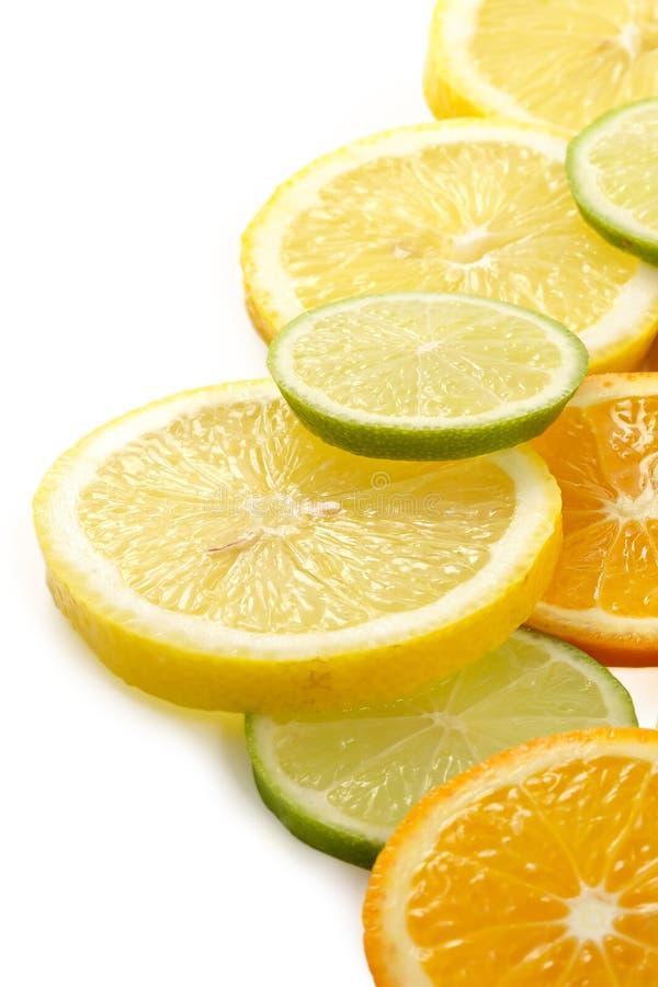 tangerine известки лимона цитрона allsorts стоковое фото rf