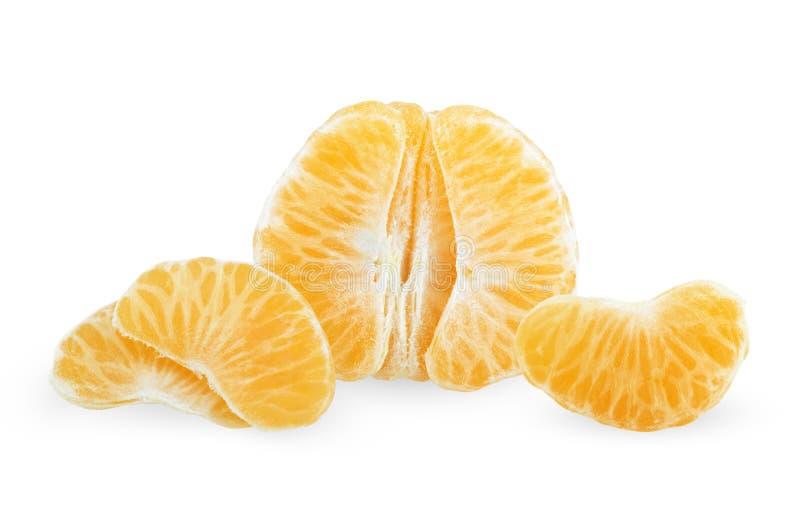 tangerine отрезанный плодоовощ стоковые изображения