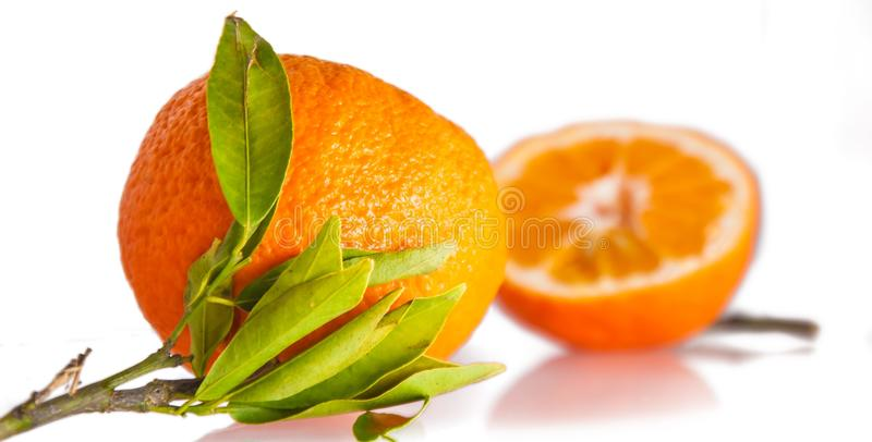 Плод, естественная еда, Tangerine, Клементин стоковая фотография