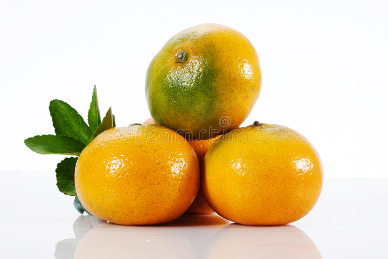 Download Tangerine stock photo. Image of green, section, vegetarian - 27543198