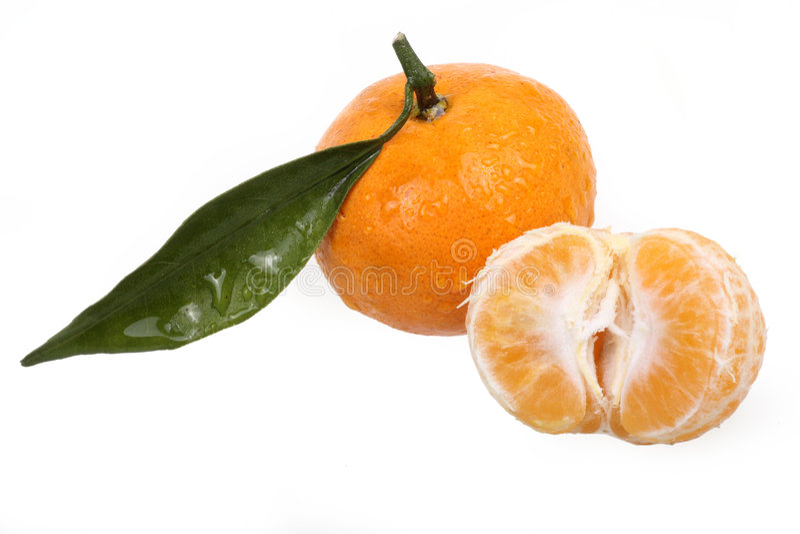 Tangerine foto de stock royalty free