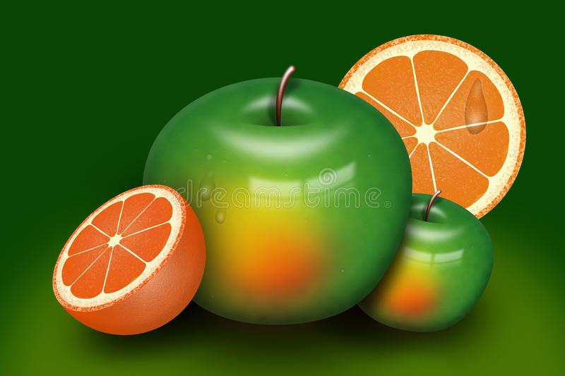 Плод, продукция, апельсин мандарина, Tangerine стоковое изображение