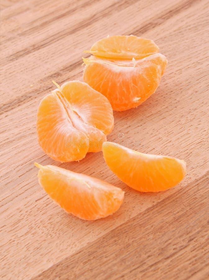 Tangerine Segments Royalty Free Stock Photography