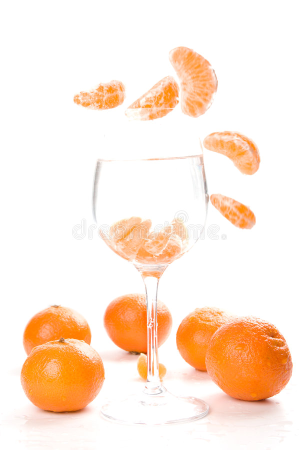 Download Tangerine segments stock photo. Image of many, background - 8330942