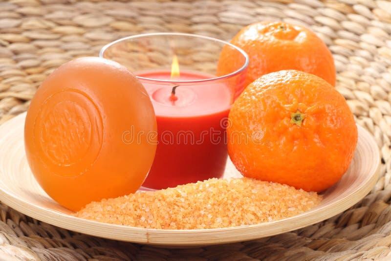 Tangerinebad lizenzfreie stockfotografie