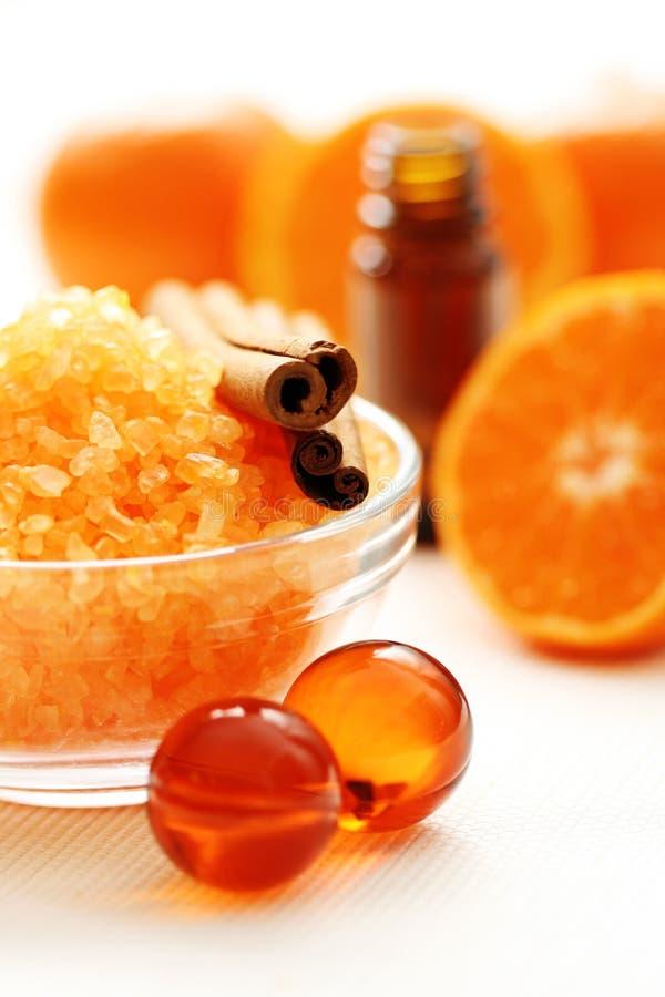 Tangerinebad stockfoto
