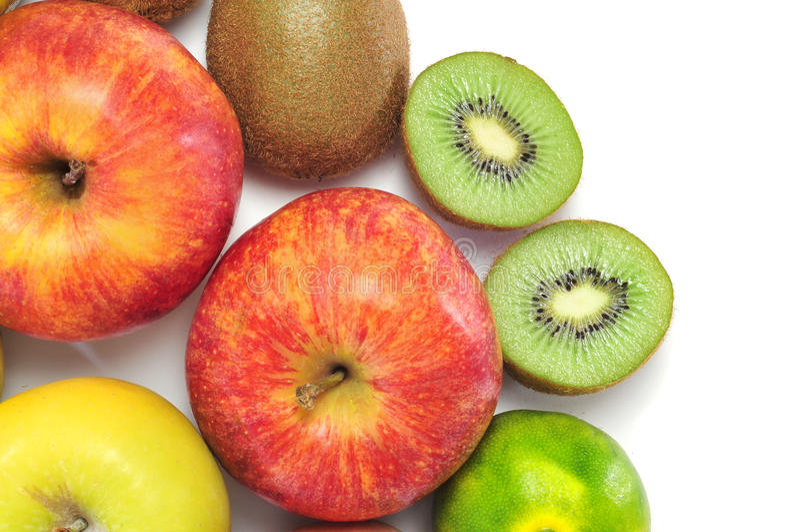 tangerines ακτινίδιων μήλων στοκ εικόνες με δικαίωμα ελεύθερης χρήσης