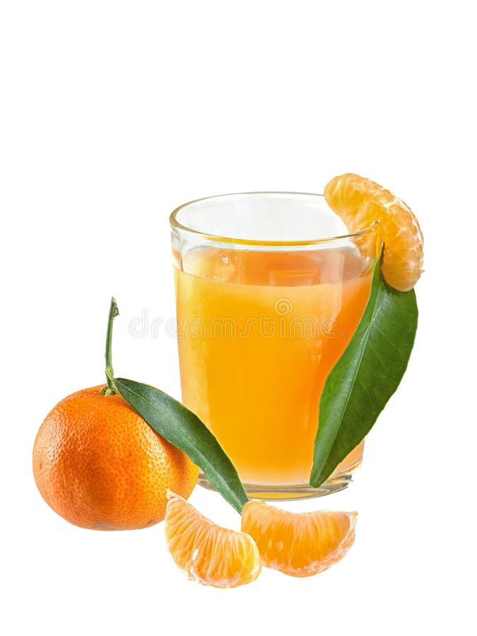 tangerines χυμού γυαλιού ανασκόπη στοκ εικόνες με δικαίωμα ελεύθερης χρήσης