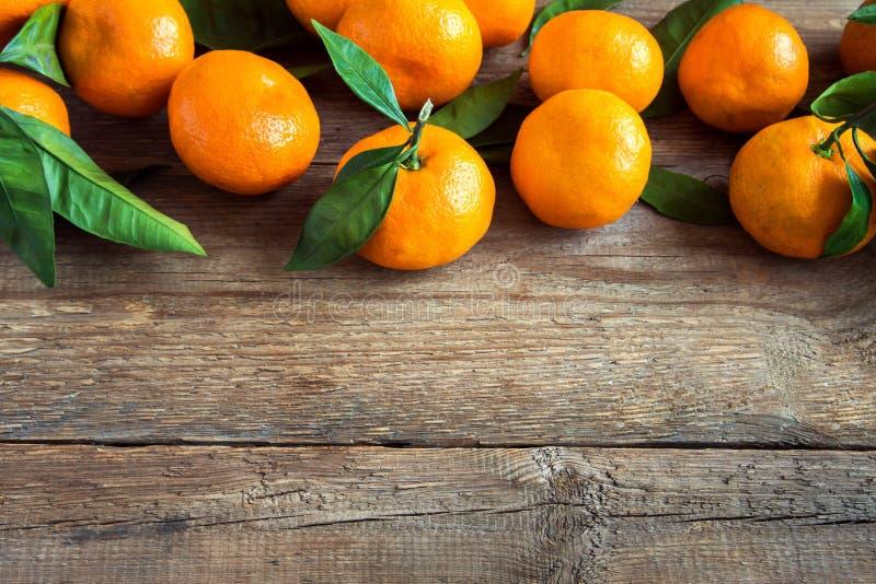 Tangerines, pomarańcze obraz stock