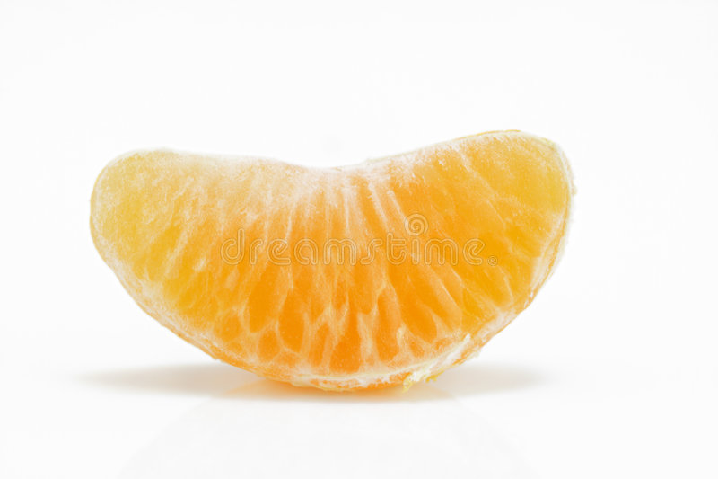 Tangerinesegment stockfotos