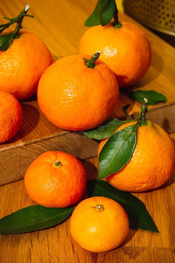 Tangeryny w Maroku fotografia stock