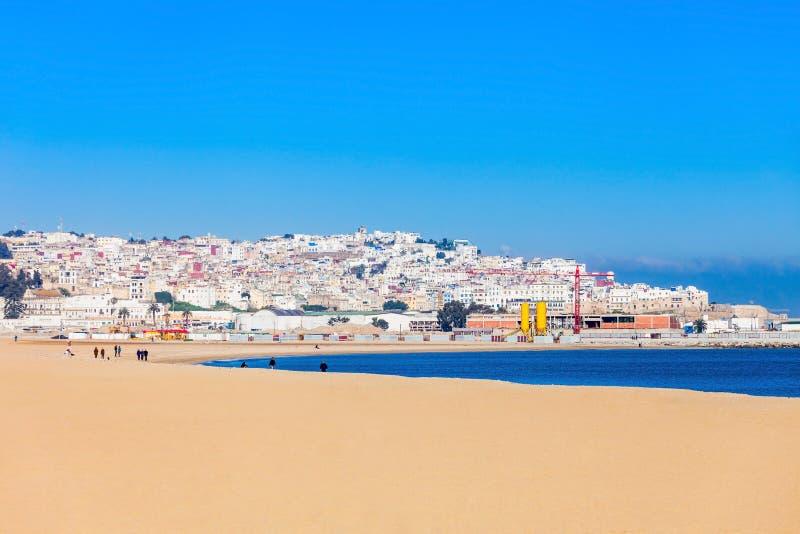 Tangier i Marocko royaltyfri foto
