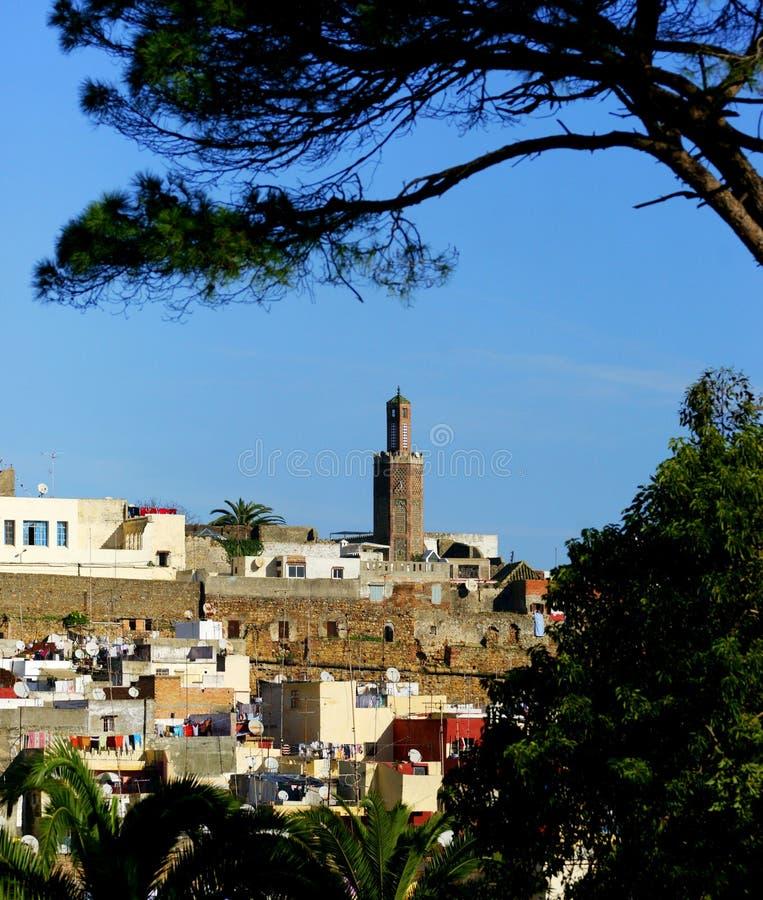 Tangier Kasbah stock photo