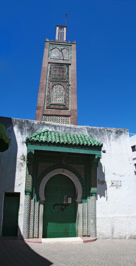 Tangier, Tangiers, Tanger, Morocco, Africa, North Africa, Maghreb coast, Strait of Gibraltar, Mediterranean Sea, Atlantic Ocean. Morocco, North Africa, 22/04/ stock image