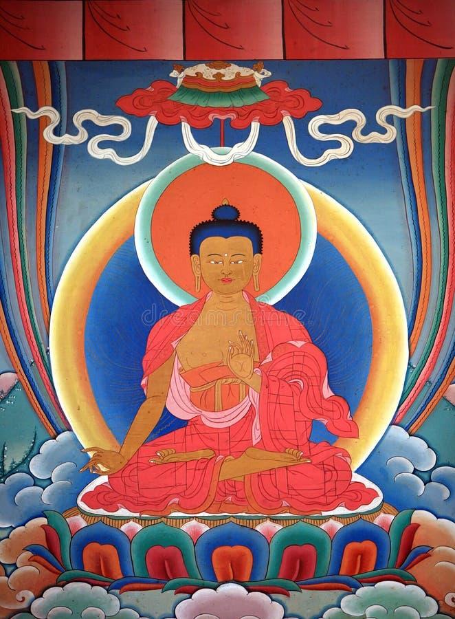 Tangka art royalty free stock images