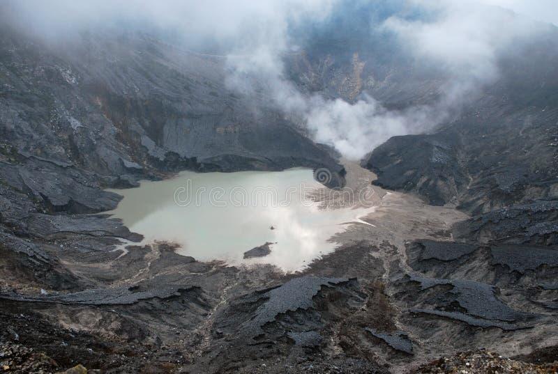 tangkuban ηφαίστειο perahu κρατήρων στοκ φωτογραφία