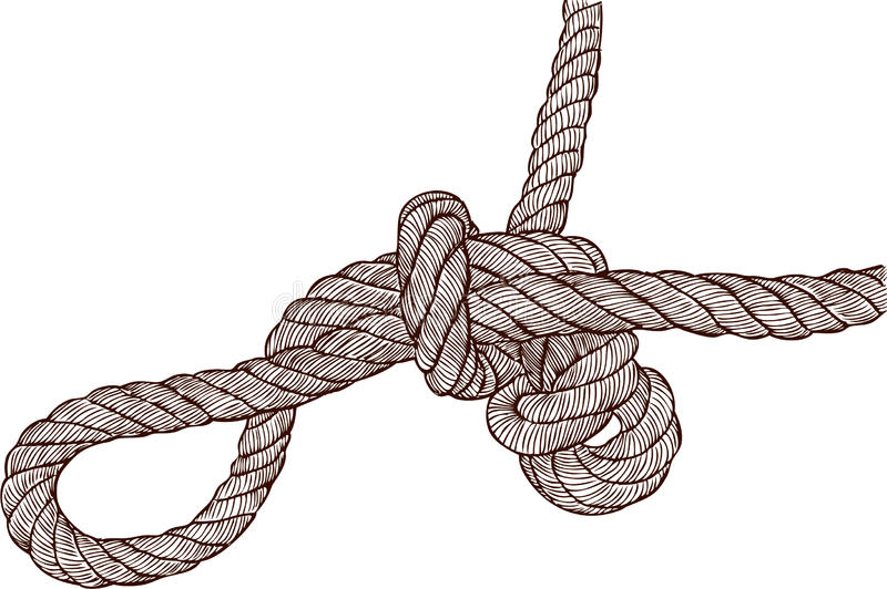 Download Tangled knot stock image. Image of marine, steam, cord - 27330729