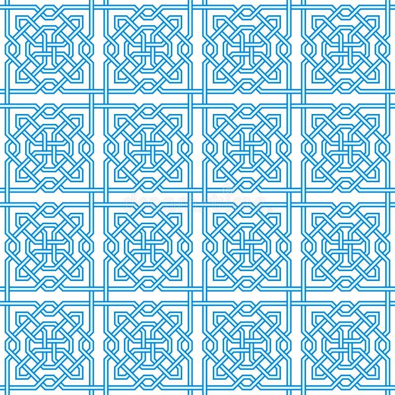 Tangled Modern Pattern stock illustration