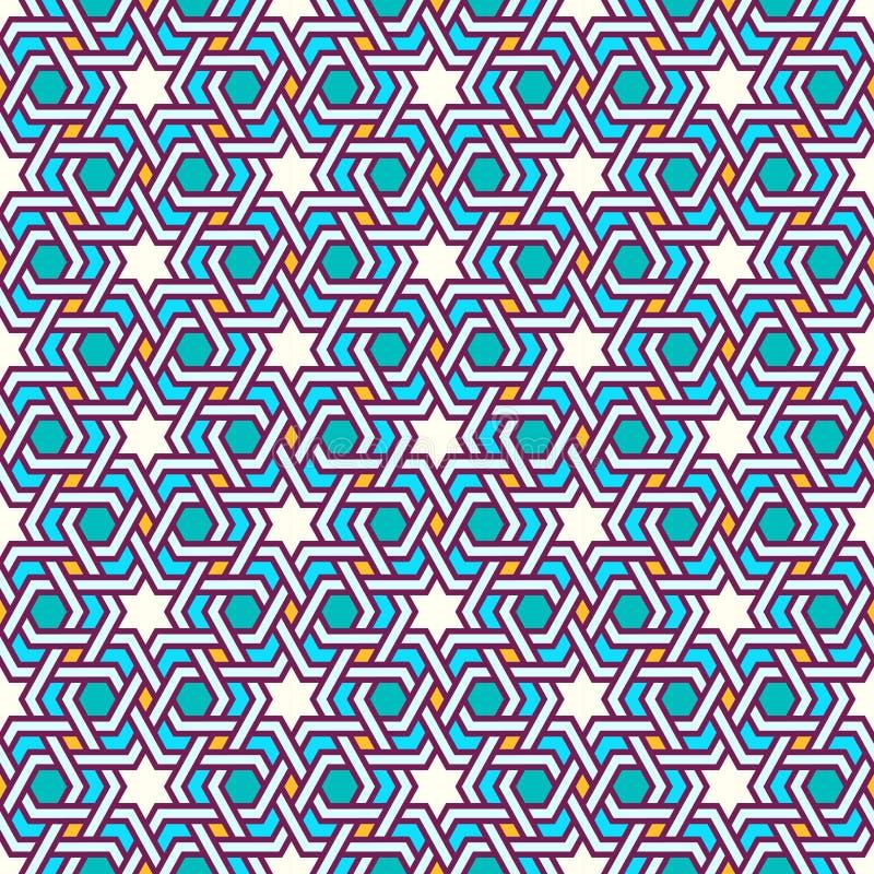 Tangled Modern Pattern vector illustration