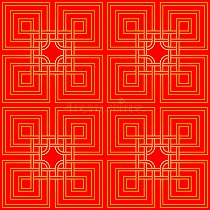 Tangled Pattern royalty free illustration