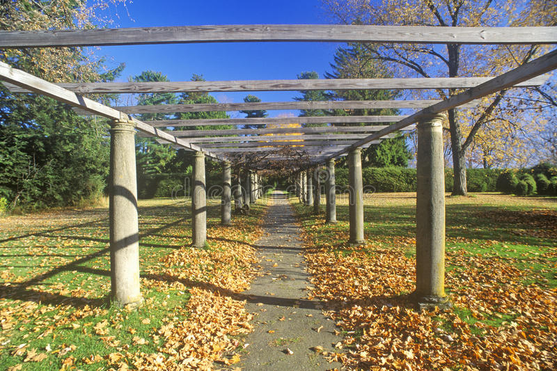 Tanglewood-Musik-Center im Herbst, Lenox, Massachusetts stockfotografie