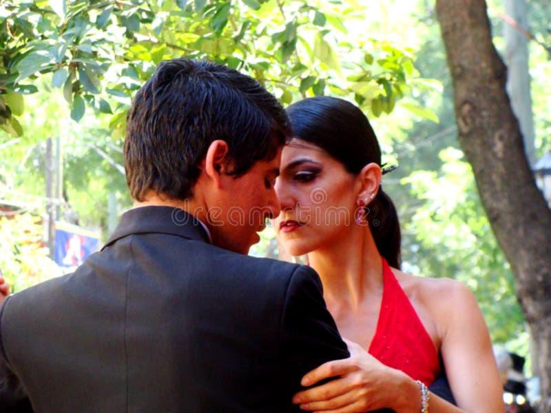 Tango à Buenos Aires, Argentine photo libre de droits
