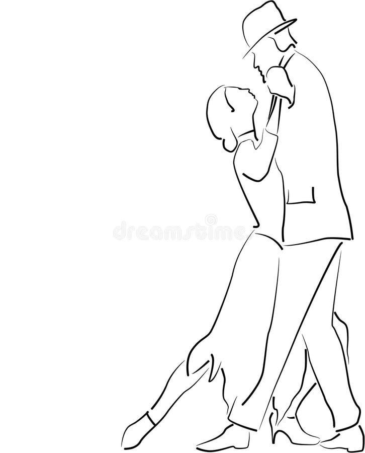tango stock illustrationer
