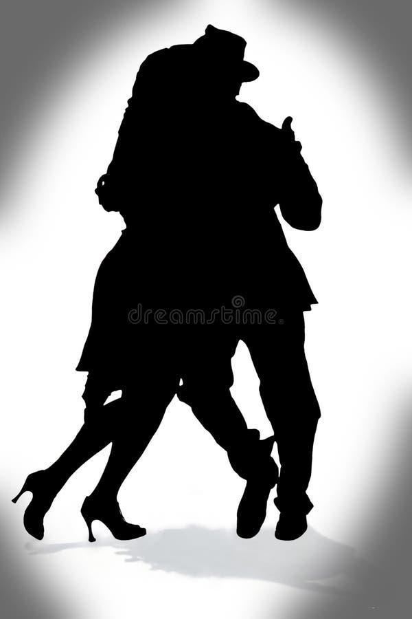 Tango illustration stock