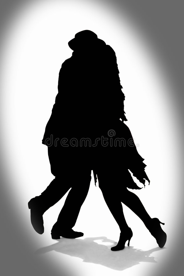 Tango royalty free illustration