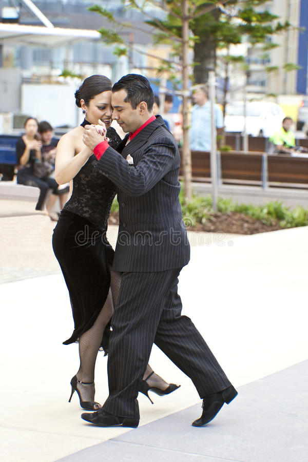 Tango zdjęcia royalty free