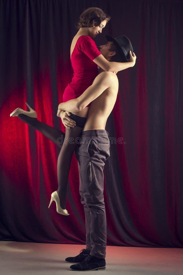 Tango. images libres de droits