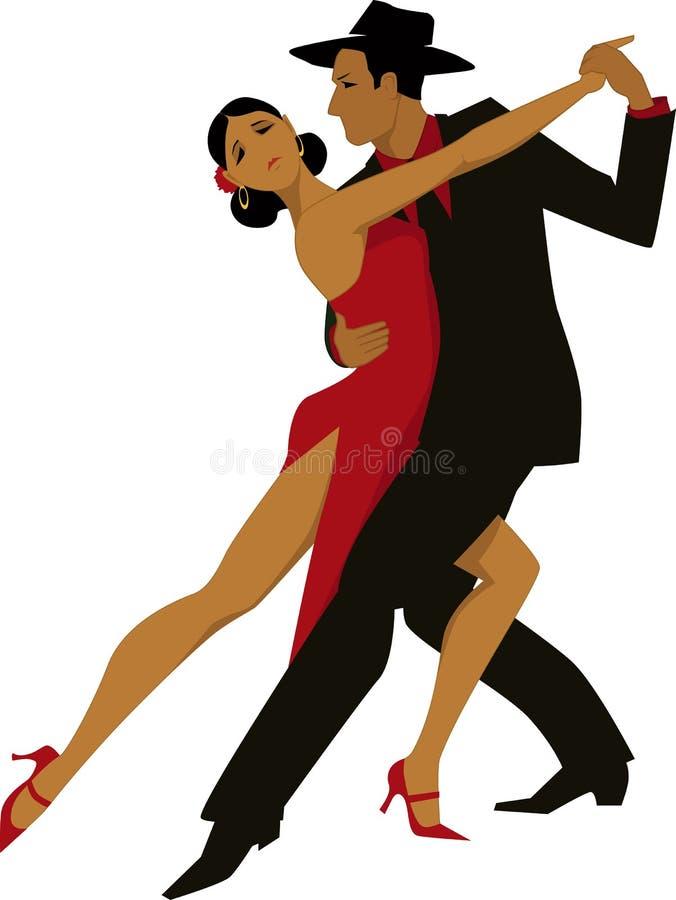 tango lizenzfreie abbildung