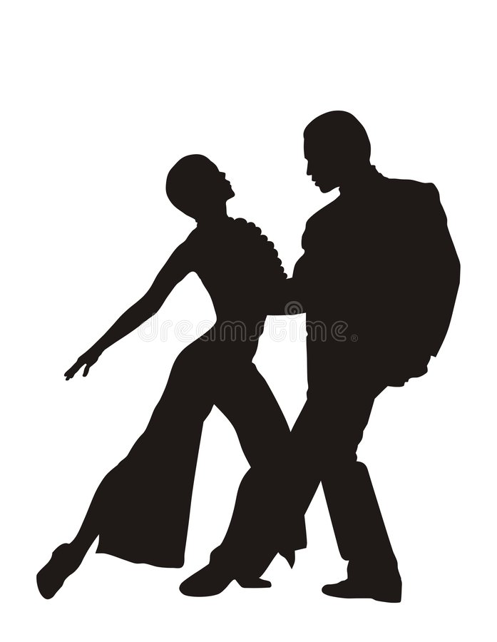 Tango ilustração royalty free